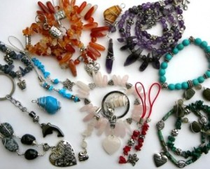 Handmade gemstone jewellery designed by Eva Maria Szanto