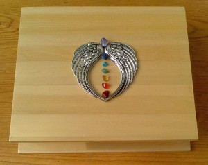 Boxed Set of ( Healing Crystal - Box Cover design by Eva Maria Hunt