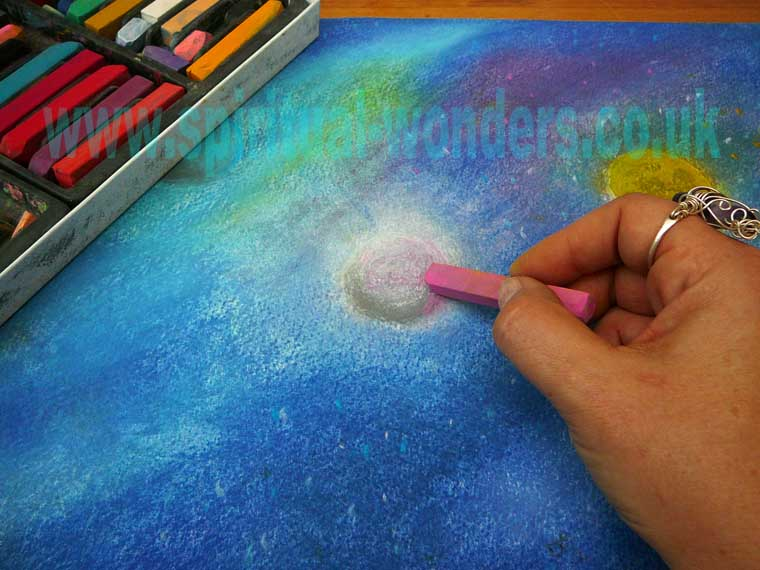 Universe, Soft Patel by Eva maria Hunt