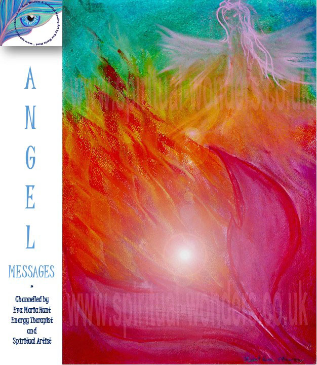 Abundance with Archangel Ariel by Eva Maria Hunt
