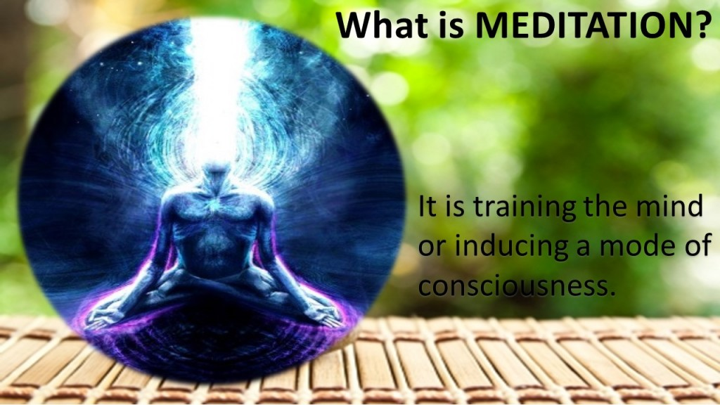 Meditation class what is meditation slide