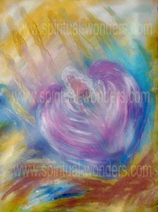 Angel for The Crown Chakra Protected