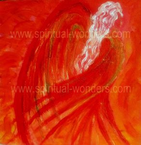 Angel of Passion with text