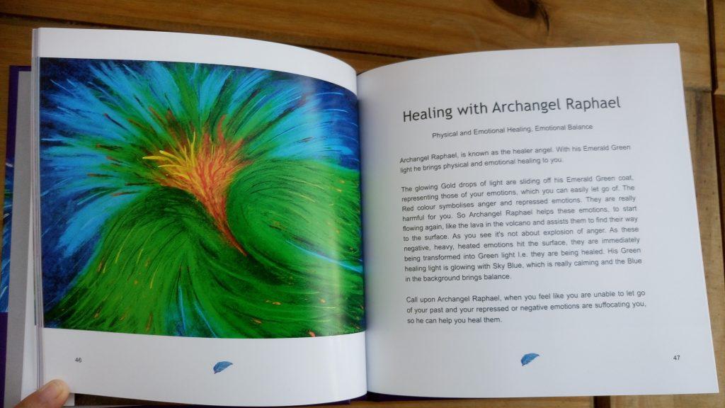 Colours & Angel Art Archangel Raphael