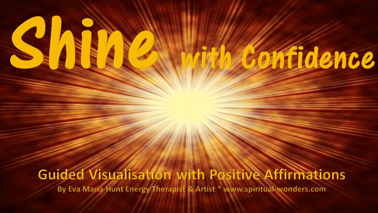 shine with confidence guided visualisation with positive
