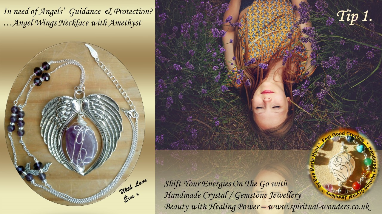 Tip 1 angels guidance amethyst