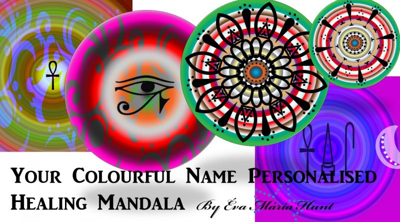 Healing Mandalas Your Colourful Name