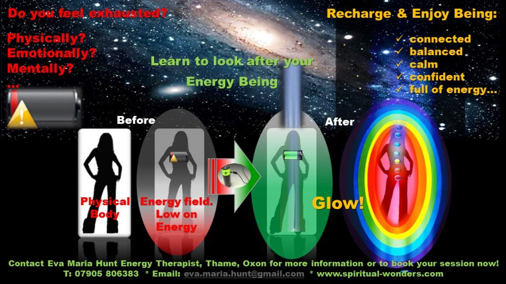 Learn to look after you entire being with energy coaching www.spiritual-wonders.com